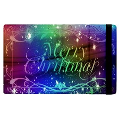 Christmas Greeting Card Frame Apple Ipad Pro 9 7   Flip Case
