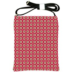Christmas Wrapping Paper Shoulder Sling Bags by Celenk