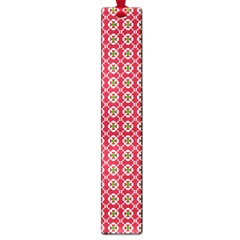 Christmas Wrapping Paper Large Book Marks by Celenk