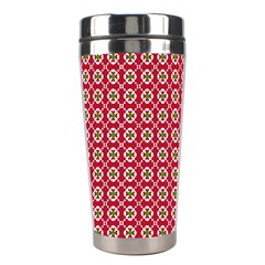 Christmas Wrapping Paper Stainless Steel Travel Tumblers by Celenk