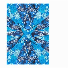 Christmas Background Wallpaper Small Garden Flag (two Sides) by Celenk