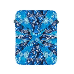 Christmas Background Wallpaper Apple Ipad 2/3/4 Protective Soft Cases by Celenk