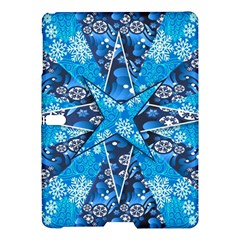 Christmas Background Wallpaper Samsung Galaxy Tab S (10 5 ) Hardshell Case  by Celenk