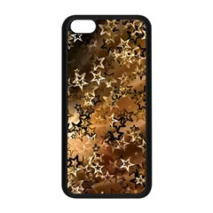 Star Sky Graphic Night Background Apple Iphone 5c Seamless Case (black) by Celenk