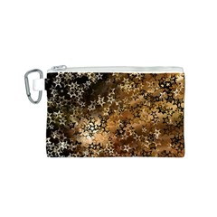 Star Sky Graphic Night Background Canvas Cosmetic Bag (s) by Celenk
