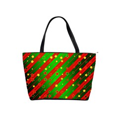 Star Sky Graphic Night Background Shoulder Handbags by Celenk