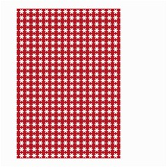 Christmas Paper Wrapping Paper Small Garden Flag (two Sides) by Celenk