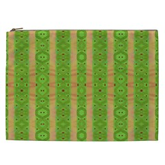 Seamless Tileable Pattern Design Cosmetic Bag (xxl)