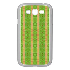 Seamless Tileable Pattern Design Samsung Galaxy Grand Duos I9082 Case (white) by Celenk