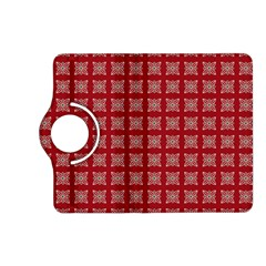 Christmas Paper Wrapping Paper Kindle Fire Hd (2013) Flip 360 Case by Celenk