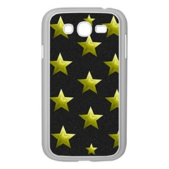 Stars Backgrounds Patterns Shapes Samsung Galaxy Grand Duos I9082 Case (white) by Celenk