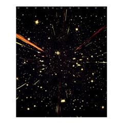 Star Sky Graphic Night Background Shower Curtain 60  X 72  (medium)  by Celenk