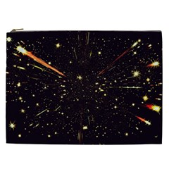 Star Sky Graphic Night Background Cosmetic Bag (xxl)  by Celenk