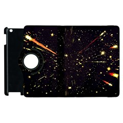 Star Sky Graphic Night Background Apple Ipad 3/4 Flip 360 Case by Celenk