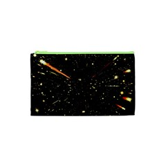 Star Sky Graphic Night Background Cosmetic Bag (xs)