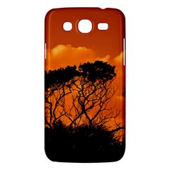 Trees Branches Sunset Sky Clouds Samsung Galaxy Mega 5 8 I9152 Hardshell Case  by Celenk