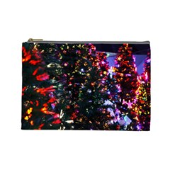 Abstract Background Celebration Cosmetic Bag (large)  by Celenk