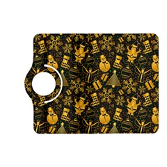 Christmas Background Kindle Fire Hd (2013) Flip 360 Case by Celenk