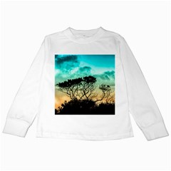 Trees Branches Branch Nature Kids Long Sleeve T Shirts by Celenk