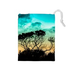 Trees Branches Branch Nature Drawstring Pouches (medium)
