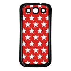 Star Christmas Advent Structure Samsung Galaxy S3 Back Case (black) by Celenk
