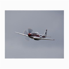 P 51 Mustang Flying Small Glasses Cloth (2 Side) by Ucco