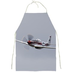 P 51 Mustang Flying Full Print Aprons by Ucco