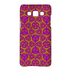 Sacred Geometry Hand Drawing Samsung Galaxy A5 Hardshell Case  by Cveti