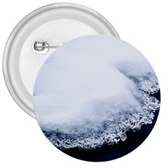 Ice, Snow And Moving Water 3  Buttons by Ucco