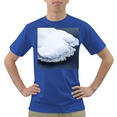 Ice, Snow And Moving Water Dark T Shirt by Ucco