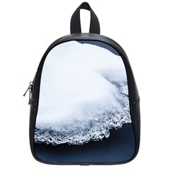 Ice, Snow And Moving Water School Bag (small) by Ucco