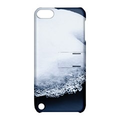 Ice, Snow And Moving Water Apple Ipod Touch 5 Hardshell Case With Stand by Ucco