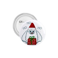 Yeti Xmas 1 75  Buttons by Valentinaart