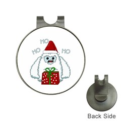 Yeti Xmas Hat Clips With Golf Markers by Valentinaart