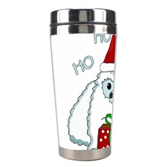 Yeti Xmas Stainless Steel Travel Tumblers by Valentinaart