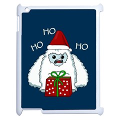 Yeti Xmas Apple Ipad 2 Case (white) by Valentinaart