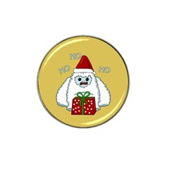 Yeti Xmas Hat Clip Ball Marker (4 Pack) by Valentinaart