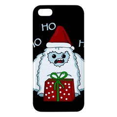 Yeti Xmas Iphone 5s/ Se Premium Hardshell Case by Valentinaart