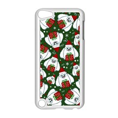 Yeti Xmas Pattern Apple Ipod Touch 5 Case (white) by Valentinaart