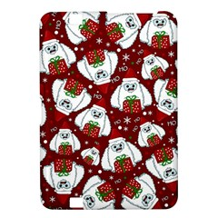 Yeti Xmas Pattern Kindle Fire Hd 8 9  by Valentinaart