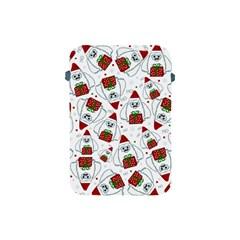 Yeti Xmas Pattern Apple Ipad Mini Protective Soft Cases by Valentinaart