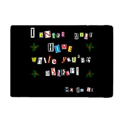 Santa s Note Apple Ipad Mini Flip Case by Valentinaart