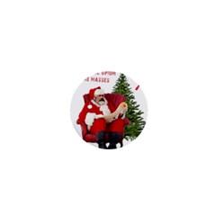 Karl Marx Santa  1  Mini Buttons by Valentinaart