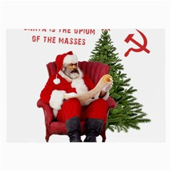 Karl Marx Santa  Large Glasses Cloth (2 Side)