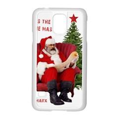 Karl Marx Santa  Samsung Galaxy S5 Case (white) by Valentinaart