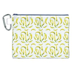 Chilli Pepers Pattern Motif Canvas Cosmetic Bag (xxl) by dflcprints