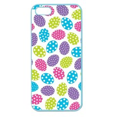 Polka Dot Easter Eggs Apple Seamless Iphone 5 Case (color) by AllThingsEveryone