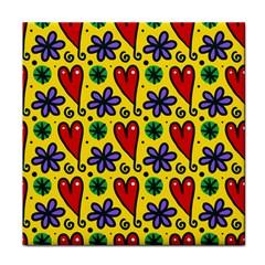 Spring Love Tile Coasters by AllThingsEveryone