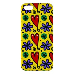 Spring Love Apple Iphone 5 Premium Hardshell Case by allthingseveryone