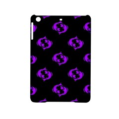 Purple Pisces On Black Background Ipad Mini 2 Hardshell Cases by AllThingsEveryone